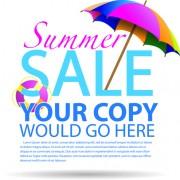 Link toVector summer sale design background graphics 01 free