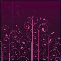 Link toVector swirls flower pattern
