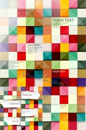 Link toVector text color squares background