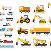 Link toVector transport vehicle icons
