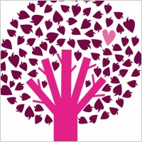 Link toVector tree with heart