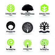 Link toVector trees logos creative design set 03 free