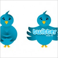 Link toVector twitter bird icon