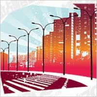 Link toVector urban road material