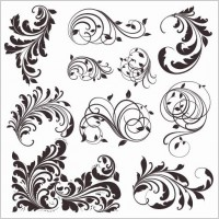 Link toVector vintage patterns for design