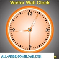 Link toVector wall clock design