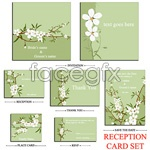 Link toVector white small flowers