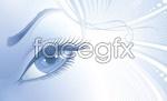 Link toVector woman eye