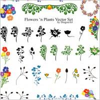 Link toVectors - flowers set