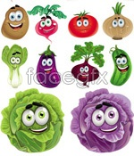 Link toVegetable cartoon images vector
