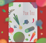 Link toVegetable shopping list vector