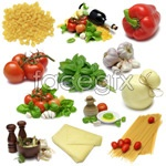 Link toVegetables and food pictures psd
