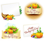 Link toVegetables, thanksgiving theme vector