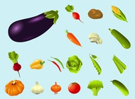 Vegetables vector free