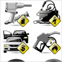 Link toVehicle maintenance and repair icon vector