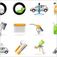 Link toVehicle maintenance icon vector