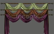 Link toVelvet decorative interlining cloth curtain curtains fabric cat candle psd