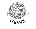 Link toVersace logo vector