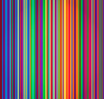 Vertical striped background vector