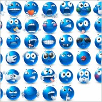 Link toVery emotional emoticons 2 icons pack
