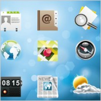 Link toVery fine system icon vector 5