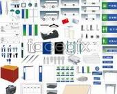 Link toVi design templates – comprehensivevi elements ai format vector