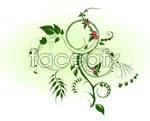 Link toVibrant green vine vector