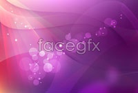 Link toVibrant halo of purple background vector