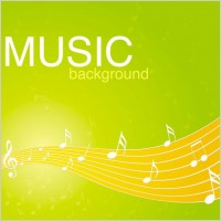 Link toVibrant music background pattern 02 vector