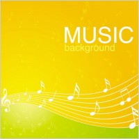 Link toVibrant music background pattern 04 vector