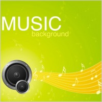 Link toVibrant music background pattern 05 vector