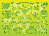 Link toVictorian nature graphics vector free