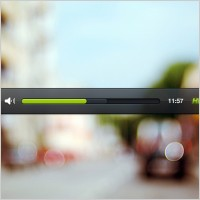 Link toVideo player psd