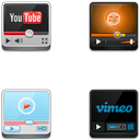 Link toVideo websites player icons