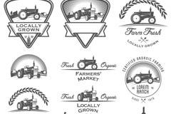 Link toVintage agricultural tag vector