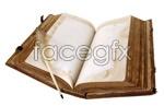 Link toVintage books psd