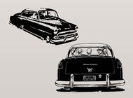 Link toVintage cars vector free