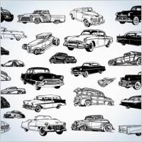 Link toVintage cars vectors