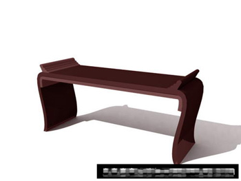 Link toVintage chinese wooden table 3d model