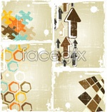 Link toVintage creative backgrounds vector