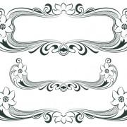 Link toVintage decor borders with frames design vector 02 free