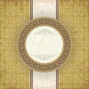 Link toVintage floral background with round frame vector 02