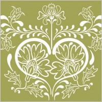 Link toVintage floral design vector graphic