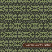 Link toVintage floral seamless vector pattern 01 free