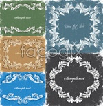 Link toVintage flower lace vector