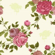 Link toVintage flower vector patterns 02