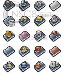 Link toVintage folder icons