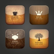 Link toVintage food and drink application icons free
