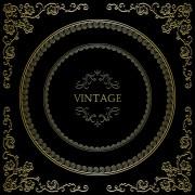 Link toVintage golden decorative frame vector 02 free