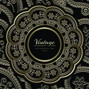 Link toVintage golden decorative frame vector 03 free